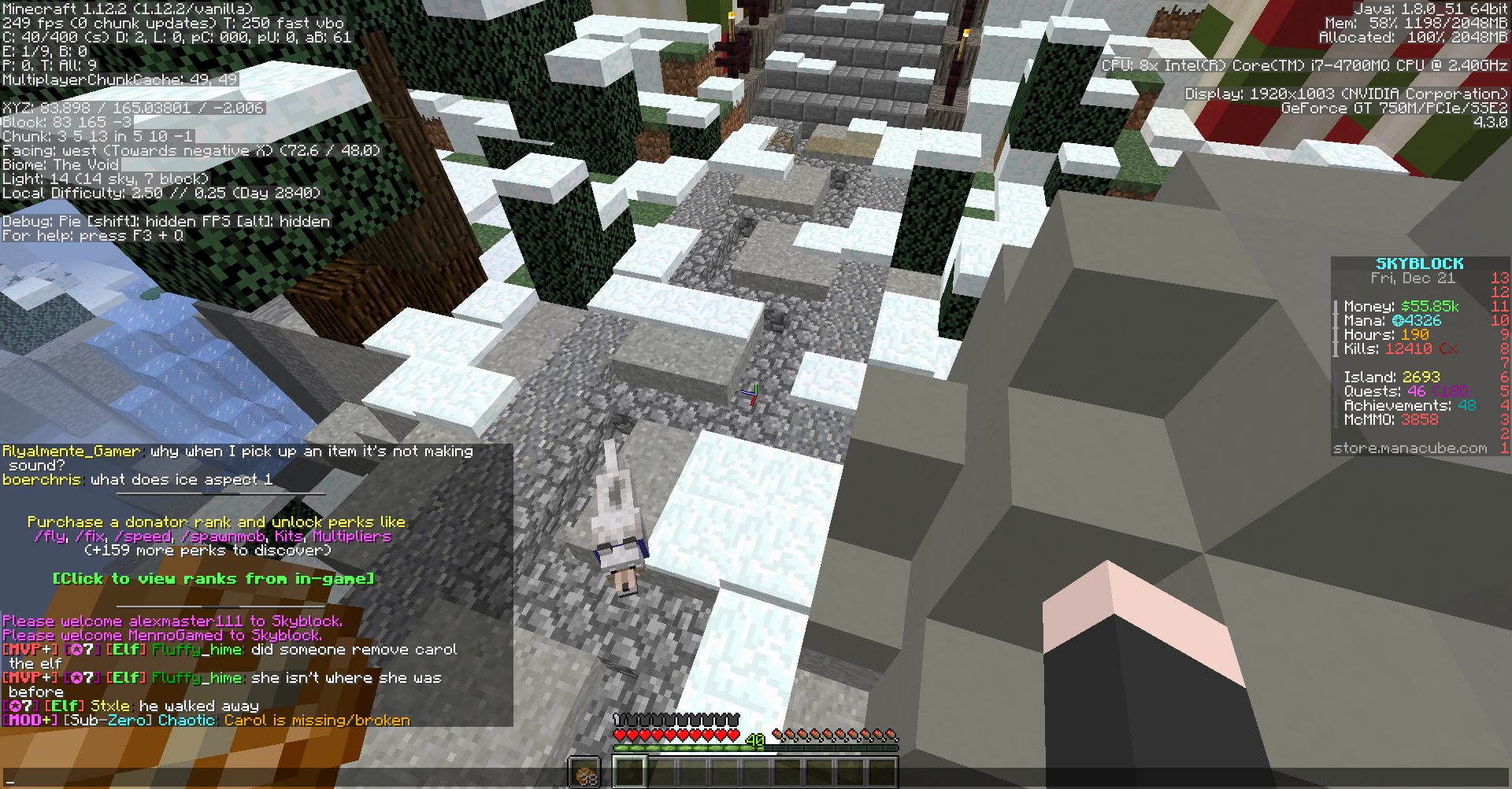 minecraft skyblock 1 12 2